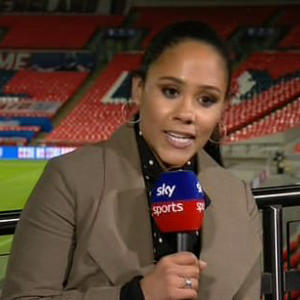 Alex Scott questions penalty decision for Denmark against England