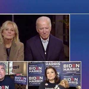 Biden was talking to George LOPEZ when he made 'four years'