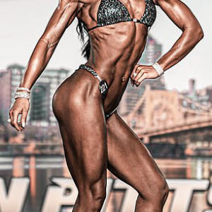 Bodybuilder says her 32DD implants caused depression and weight gain