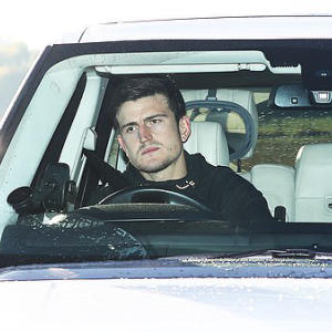 Dejected Maguire returns to United training after England nightmare