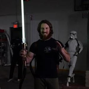 Engineer builds the world's first plasma-based Star Wars' lightsaber