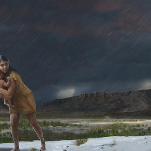 Fossils reveal journey of a mother and child 13,000 years ago