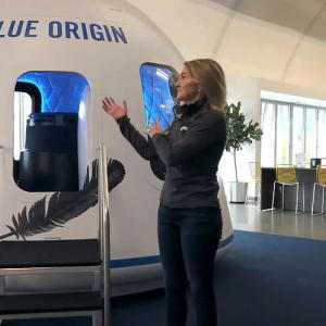 Jeff Bezos' Blue Origin gives first-ever look inside its Crew Capsule