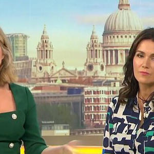 Kate Garraway is comforted by Susanna Reid as husband battles COVID-19