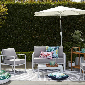 Kmart has launched a coastal-inspired outdoor furniture range