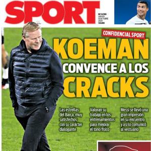 Koeman 'has convinced Barcelona's stars impressed Messi'