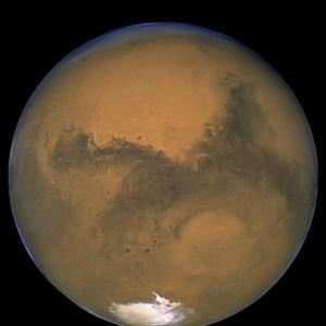 Mars will shine big and bright in the sky on Tuesday