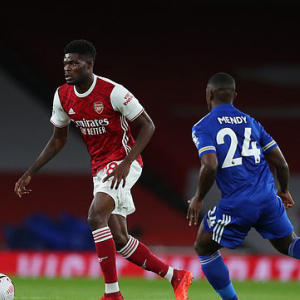 Partey has promising home debut for Arsenal despite Leicester defeat