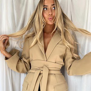 Young designer claims PrettyLittleThing stole her design for a blazer