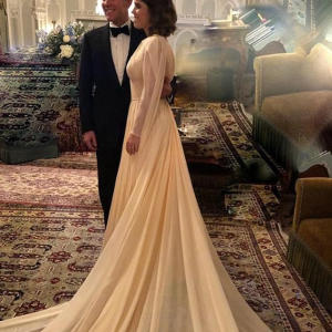 Zac Posen shares unseen picture of Princess Eugenie's wedding